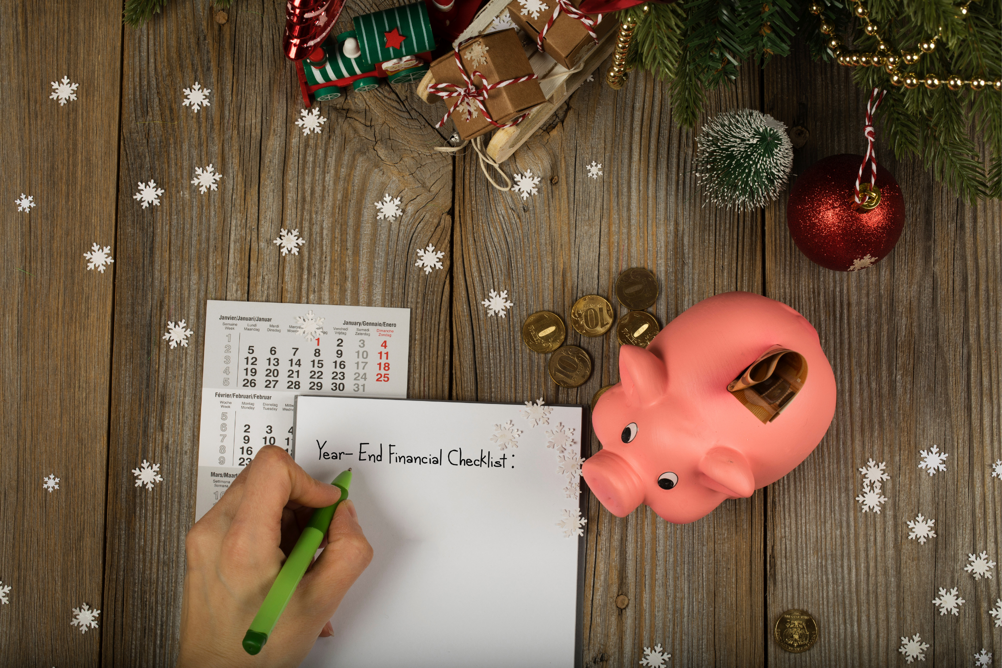 Year-End Financial Checklist: 4 Money Moves You Should Prioritize Now